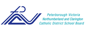 Logo of Peterborough Victoria Northumberland and Clarington Catholic District School Board