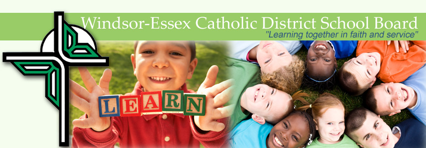 Logo of Windsor-Essex Catholic District School Board